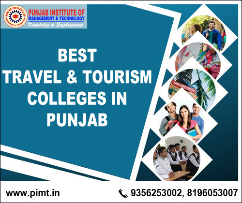 Best Travel and Tourism Colleges in Punjab