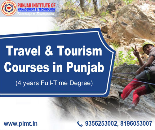 Travel and Tourism Courses in Punjab