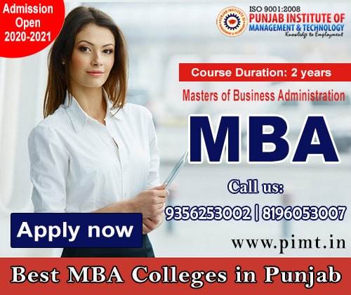 Best MBA Colleges in Punjab India - PIMT