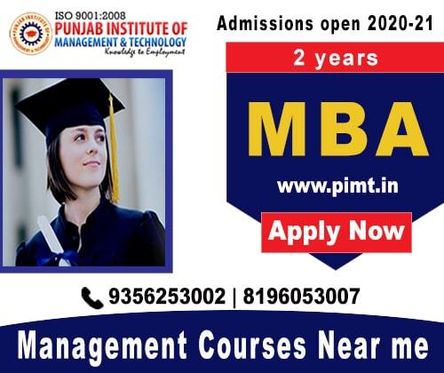 Management Courses near me-PIMT