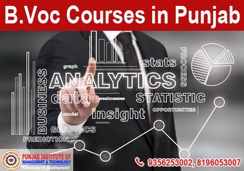 B.Voc Courses in Punjab