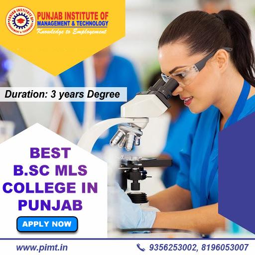 Best B.Sc MLS College in Punjab