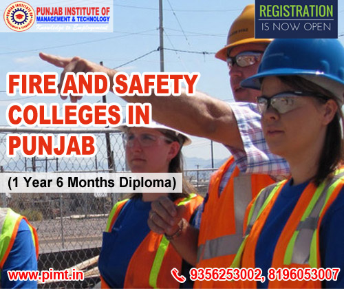 Fire and Safety Colleges in Punjab India