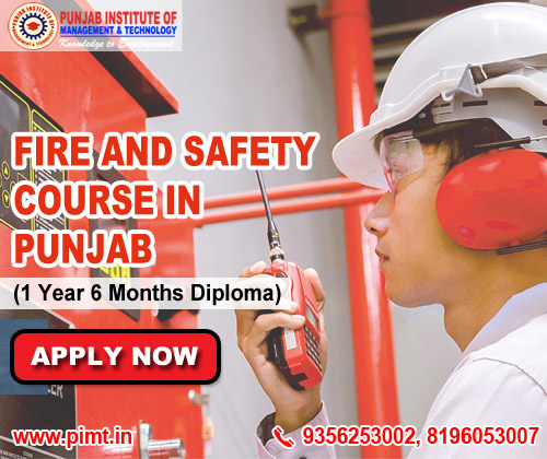 Fire and Safety Course in Punjab India