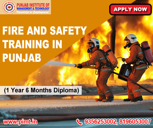 Fire and Safety Training in Punjab India