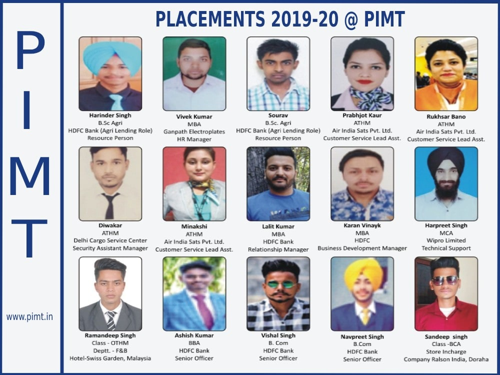 placement-pimt-2019-20